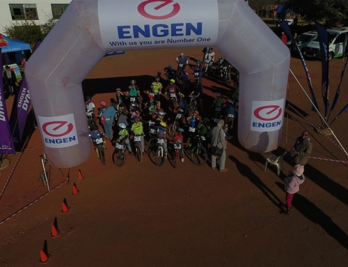 Svaziland'de ufak bir bisiklet turu.